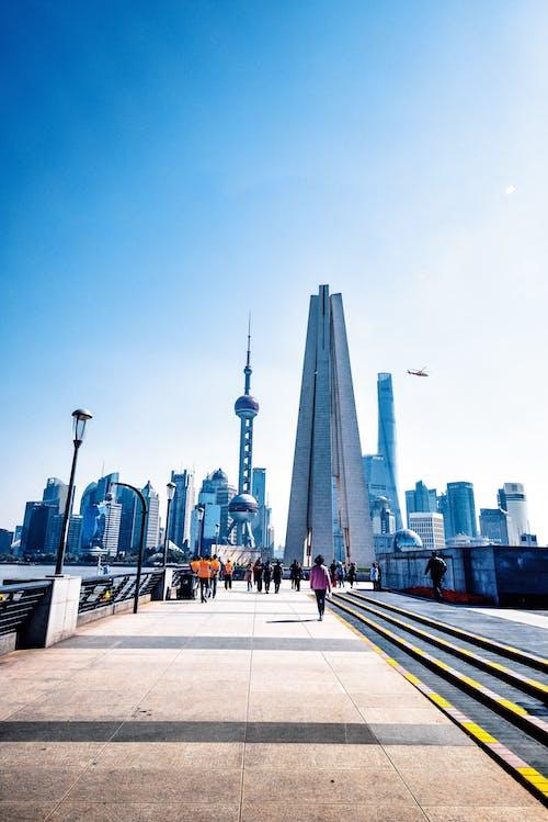 Foto d'estoc gratuïta de arquitectònic, el bund, shanghai
