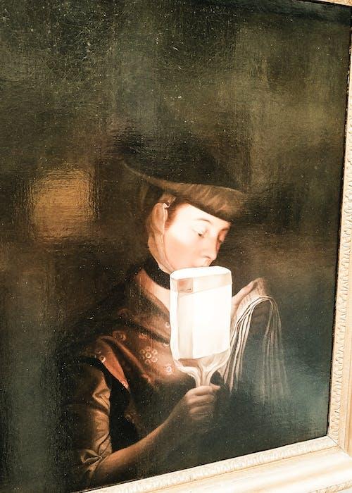 Gratis lagerfoto af kunst, lys, maleri, mørk