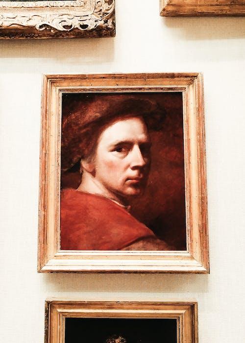 Free stock photo of art, man, museum, painting