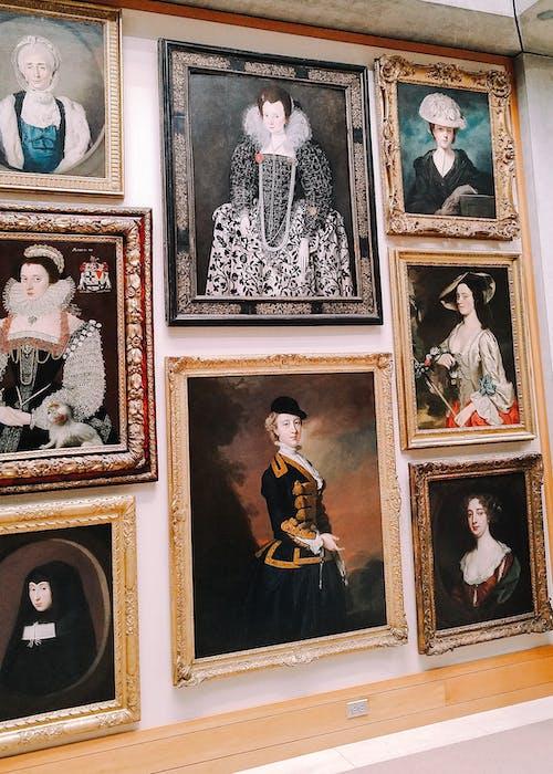 Free stock photo of art, girl, museum, painting