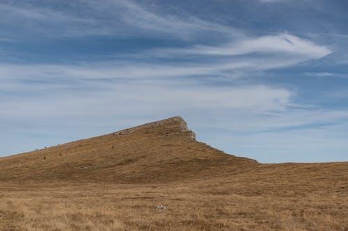 山, 山峰, 藍天 的 免费素材照片