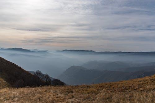 多雲的天空, 天性, 藍山, 霧 的 免费素材照片