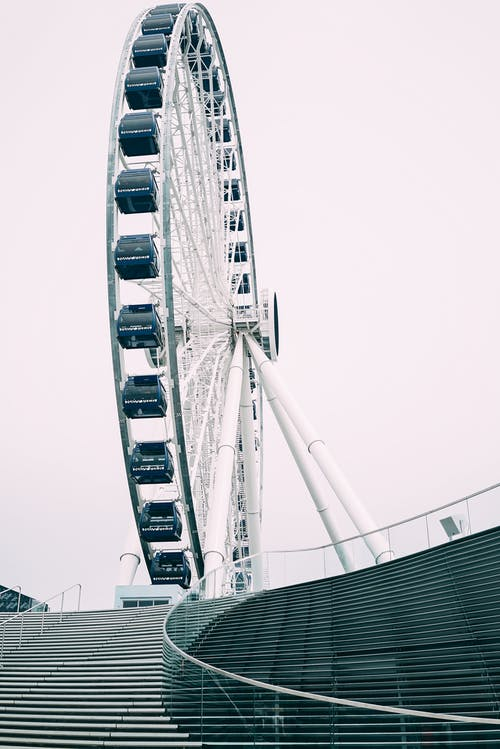 Fotos de stock gratuitas de acero, alto, céntrico, escaleras