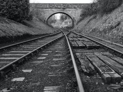 Free stock photo of rail tracks, railways