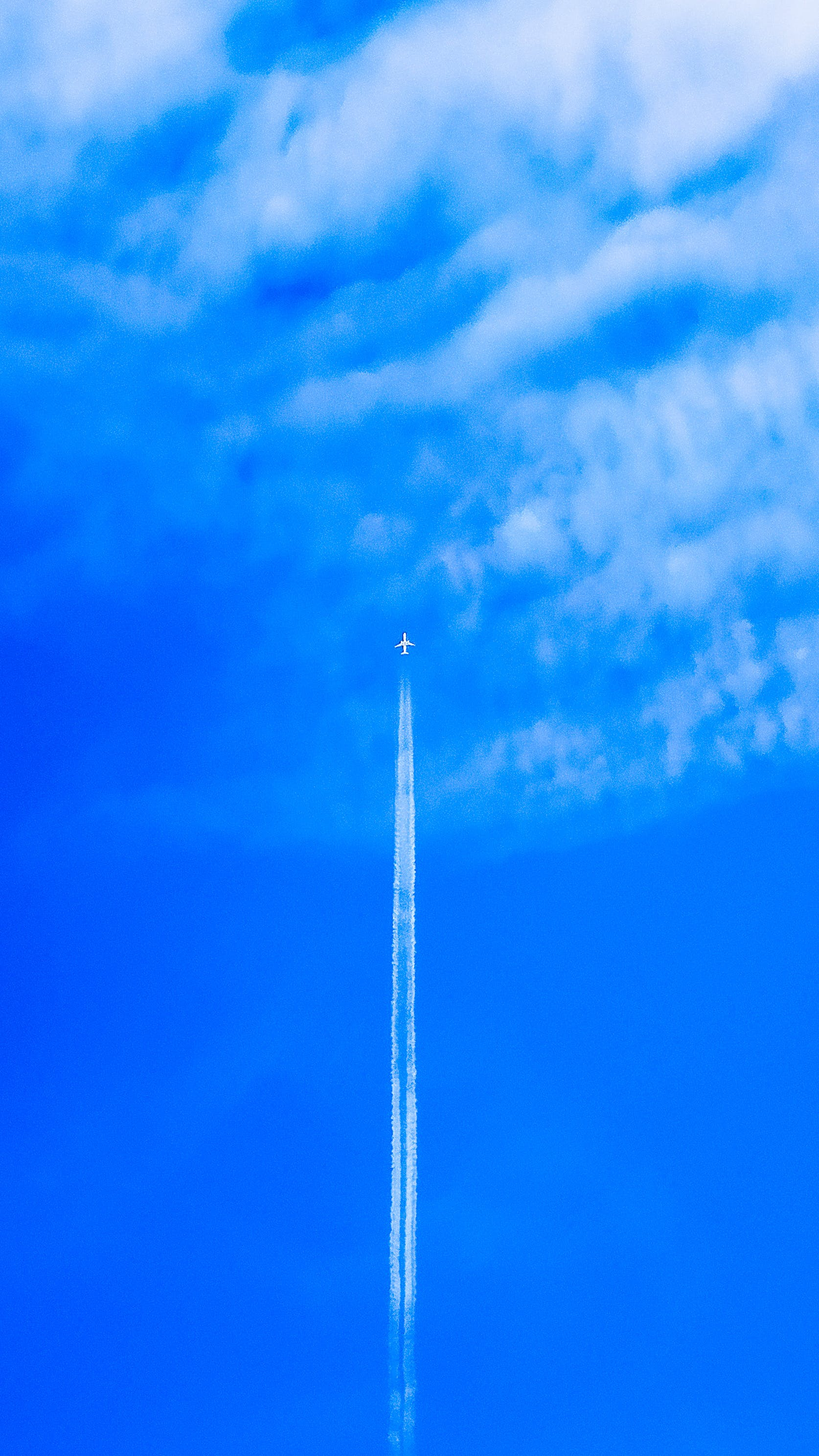 Free stock photo of aerial photography, blue, blue sky, cloud