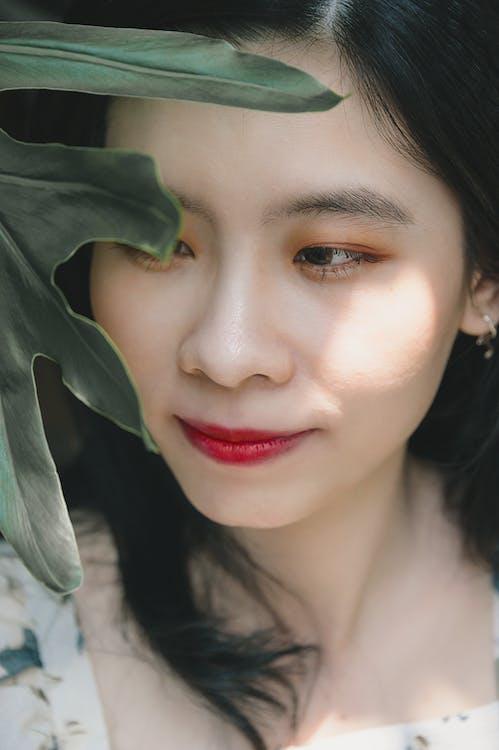 aantrekkelijk mooi, aantrekkingskracht, close-up