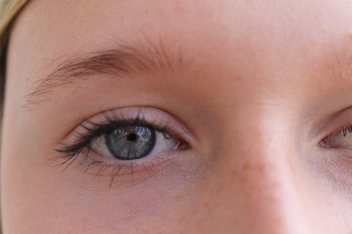 Close-Up Photo Of Person Eye