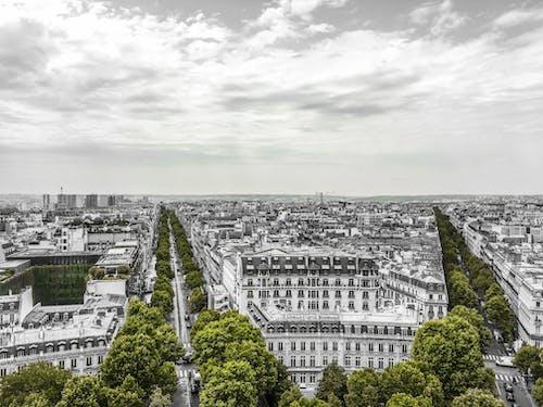 Free stock photo of paris, sky, spot color