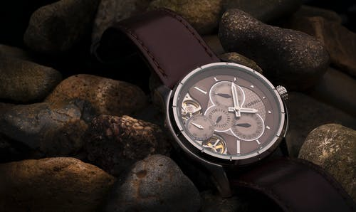 Free stock photo of Analog watch, fashion model, jewellery, menswear