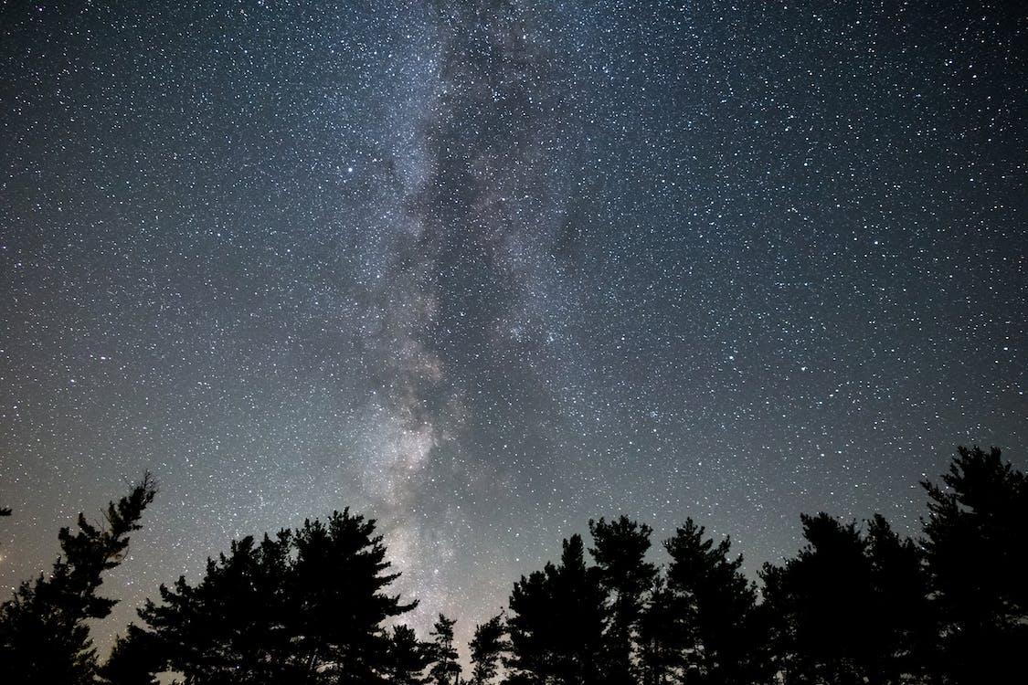 Milky Way Digital Wallpaper