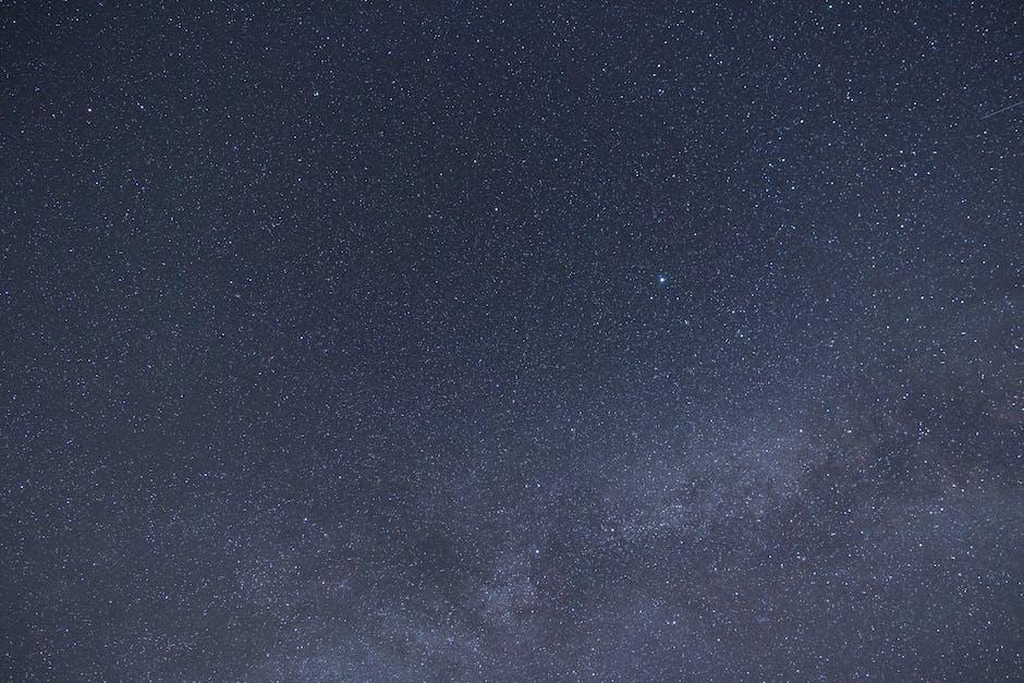 Photo of starry night sky