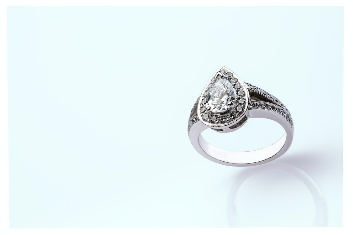 diamant-ring, schmuck