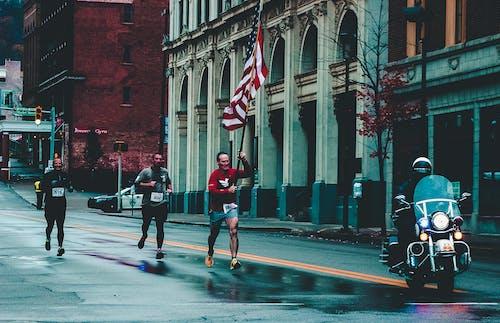 Δωρεάν στοκ φωτογραφιών με αθλητές, αμερικάνικη σημαία, άνδρες, Άνθρωποι