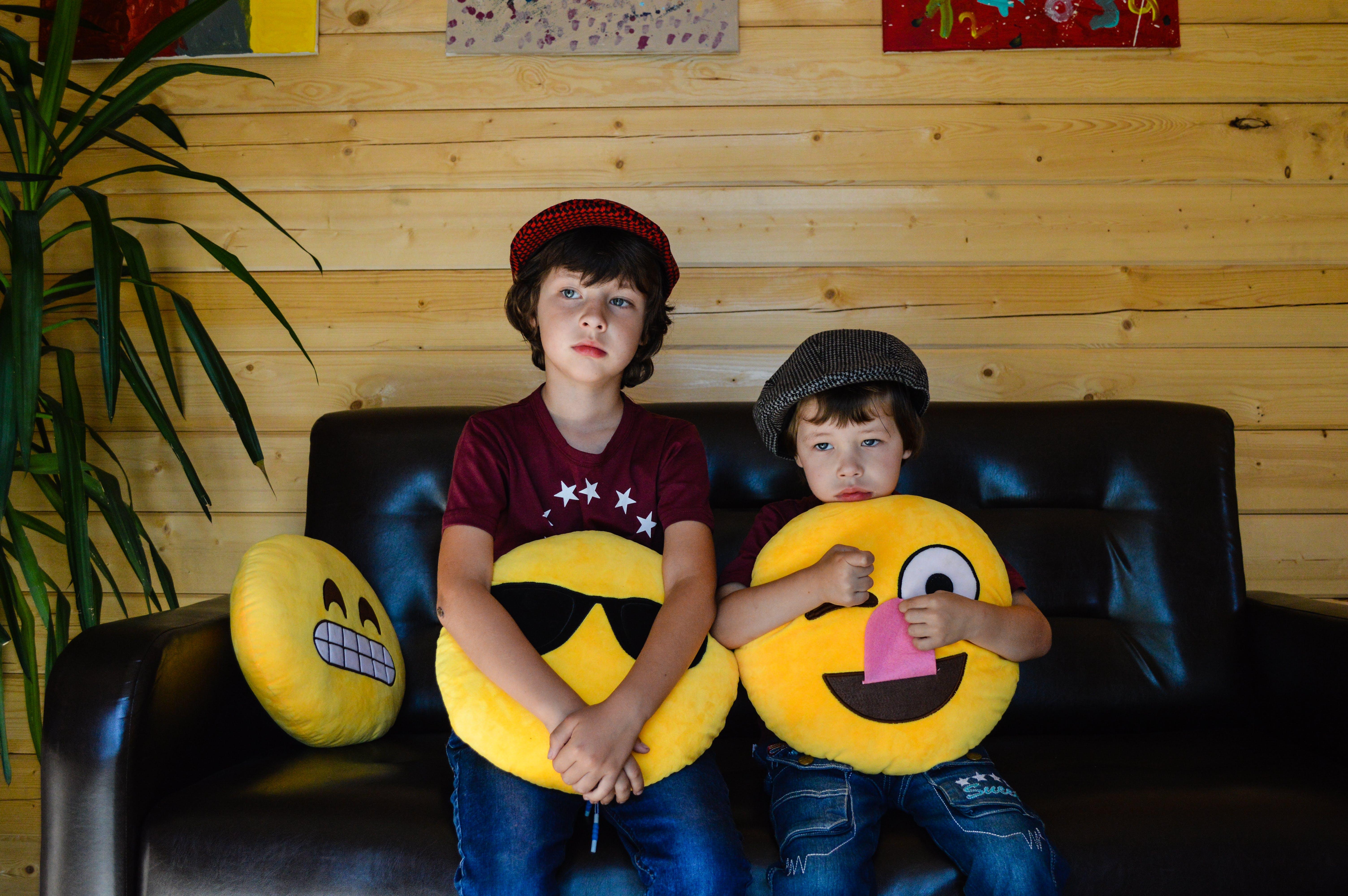 Free stock photo of boys, caps, children, children's fashion