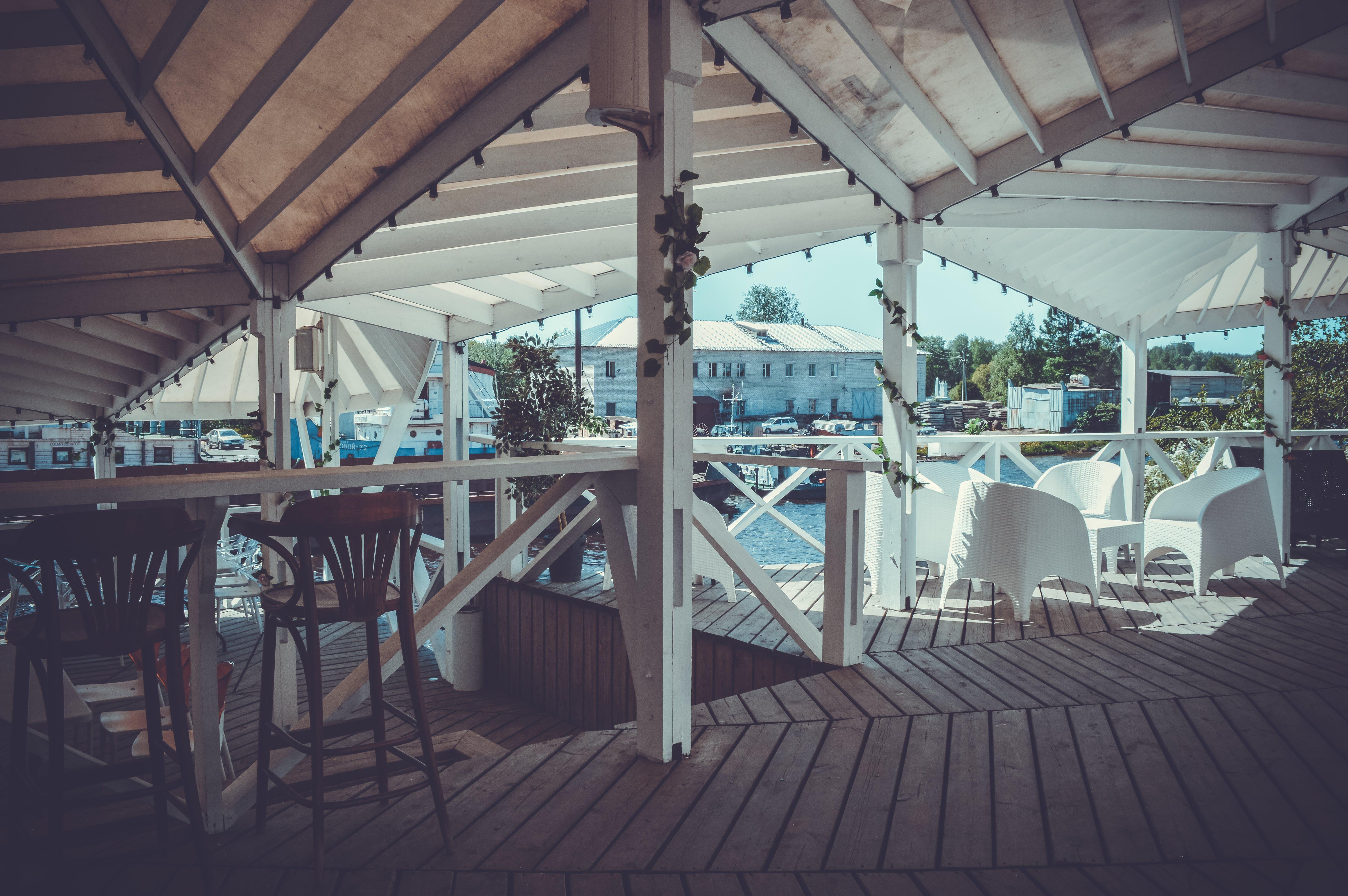 Free stock photo of café, city, pier, port