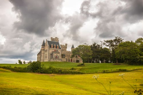 Foto d'estoc gratuïta de arbres, arquitectura, castell, edifici