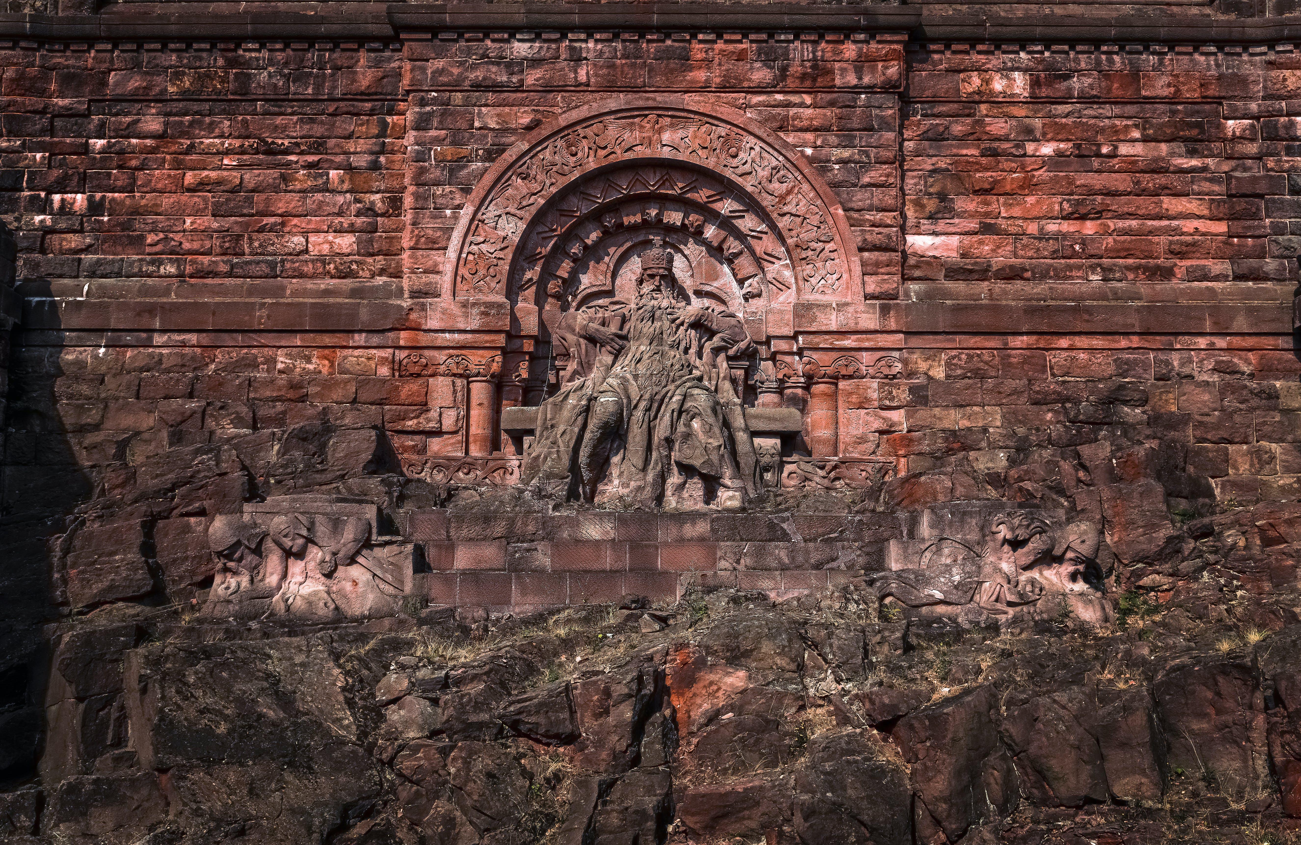 Ảnh lưu trữ miễn phí về barbarossa, bức tượng, công viên, du lịch