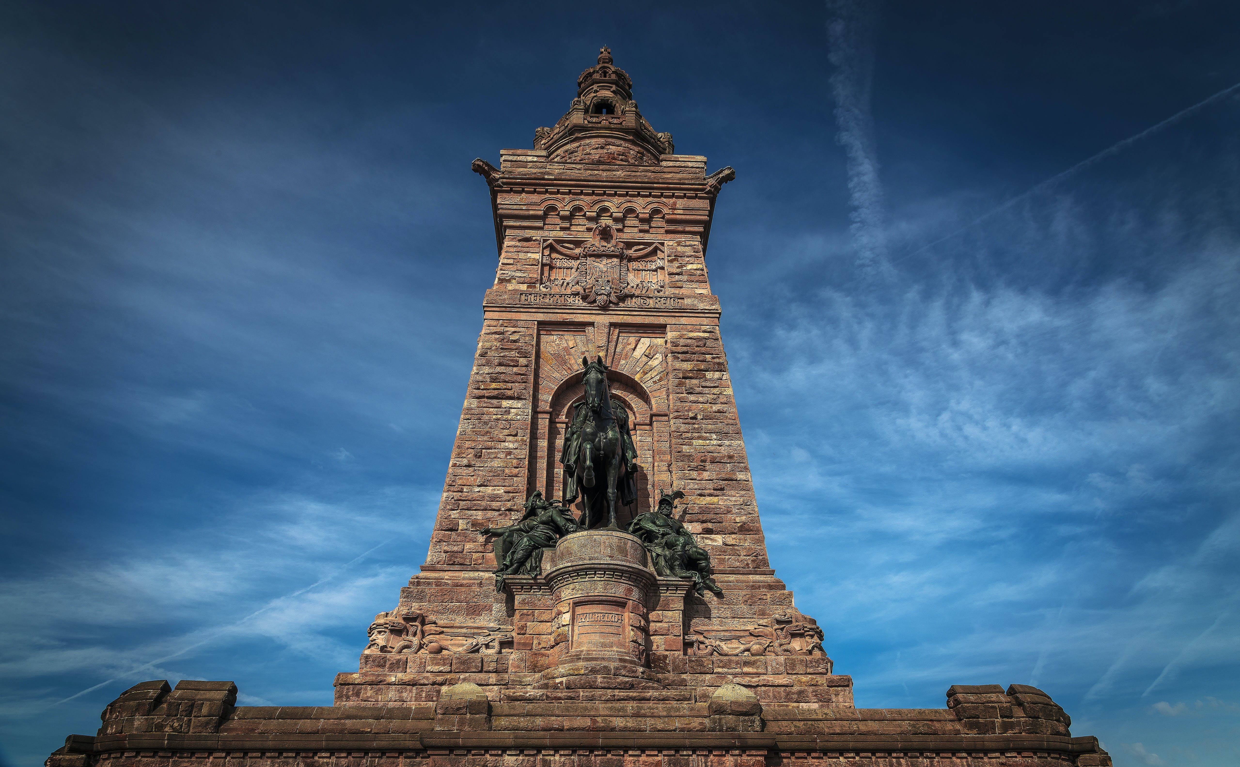 Low Angle Shot of the Barbarossa Monument