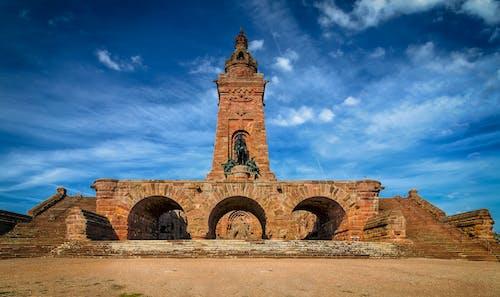 kyffhäuser紀念碑, 古老的, 地標, 塔 的 免費圖庫相片