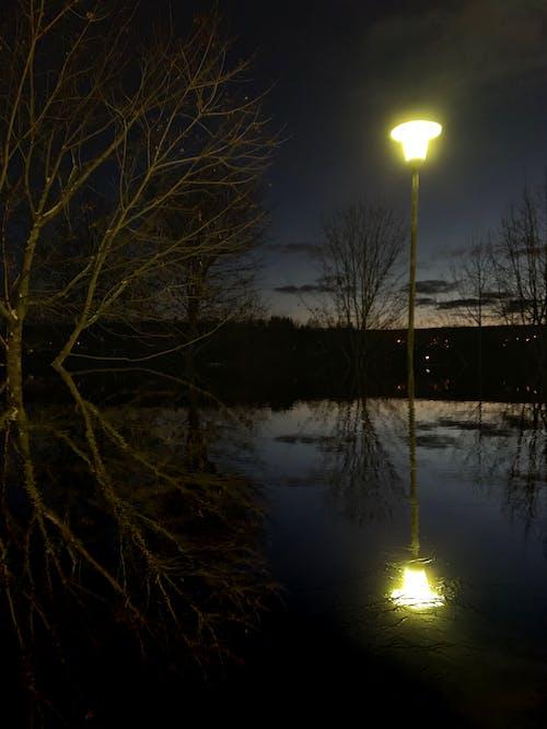 Foto d'estoc gratuïta de esfereïdor, nit