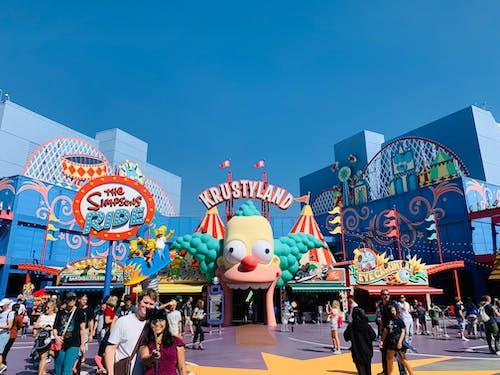 Free stock photo of theme park, universal studios