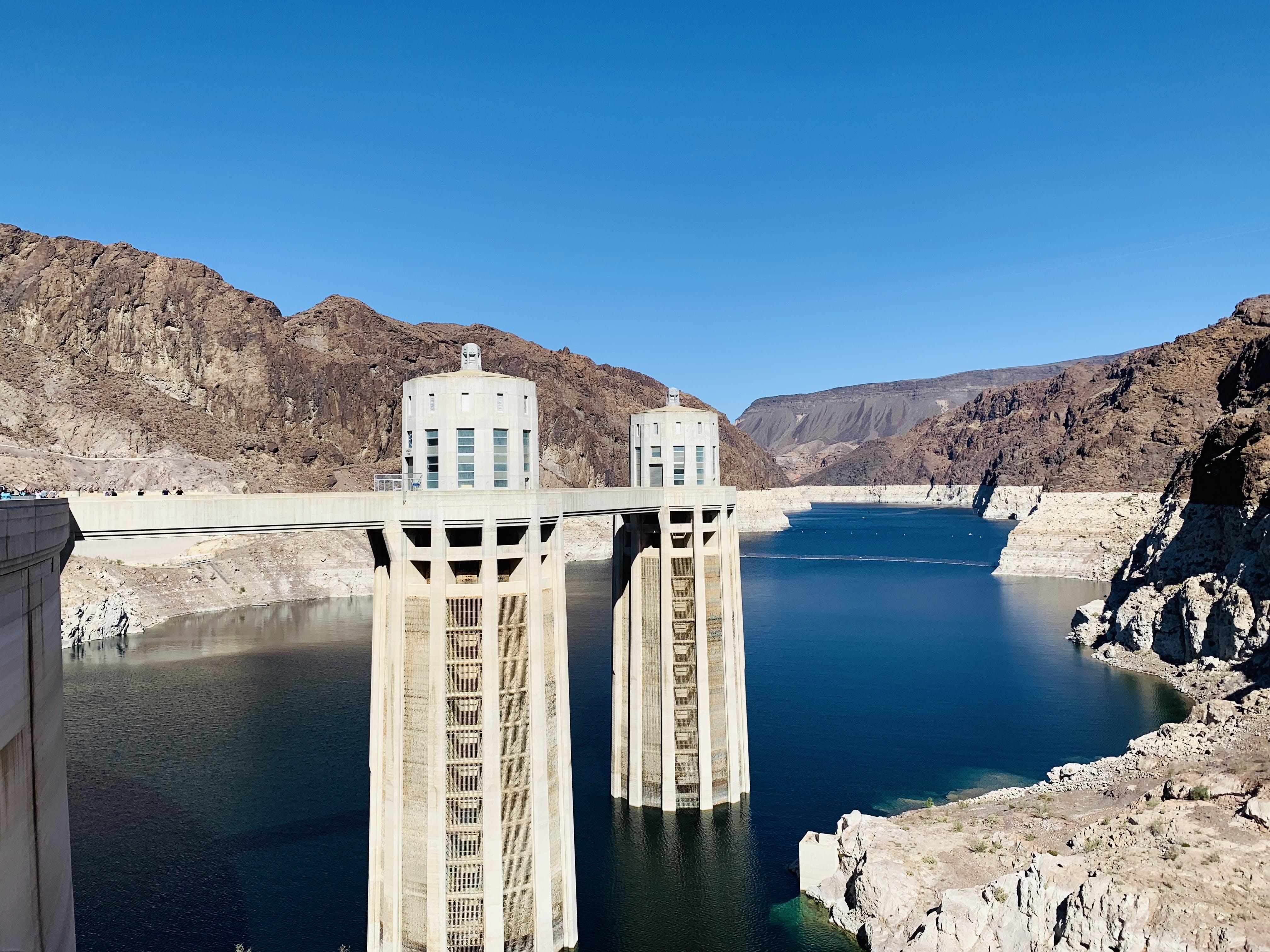 Free stock photo of dam, Hoover Dam
