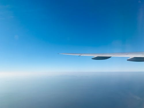 Free stock photo of aeroplane, aircraft, aircraft wing, aviation