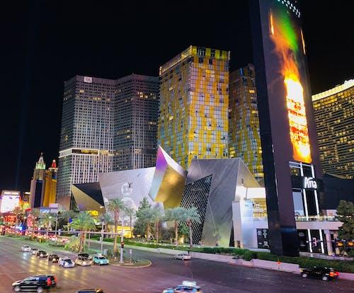 Free stock photo of buildings, Las Vegas, nevada, Sin city