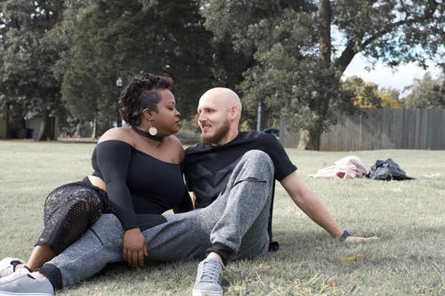 Free stock photo of black person, couple, park, people