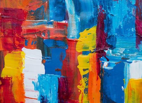 Gratis arkivbilde med abstrakt ekspresjonisme, abstrakt maleri, akryl, akrylmaling