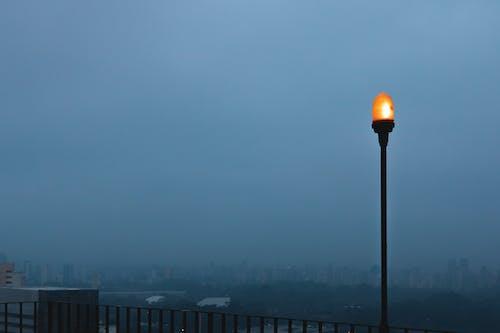 Free stock photo of blue hour, cityscape, fog, haze