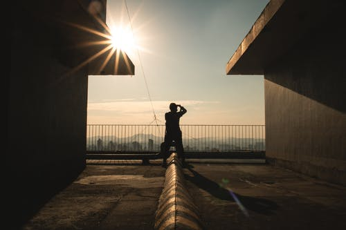 Free stock photo of afternoon, cityscape, lens flare, photographer