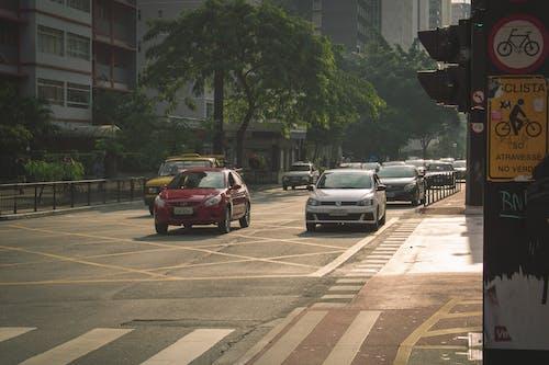 Free stock photo of afternoon, car, car lanes, carpool