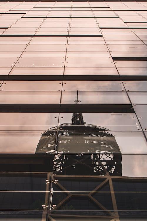 Ingyenes stockfotó alacsony szögű fényképezés, építészet, épület, pohár témában