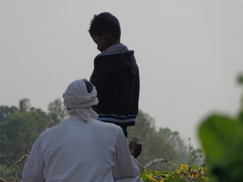 #mobilechallenge, 人像攝影, 兒子, 农民 的 免费素材照片