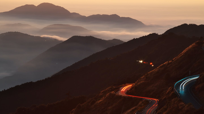 Free stock photo of light, dawn, landscape, hill