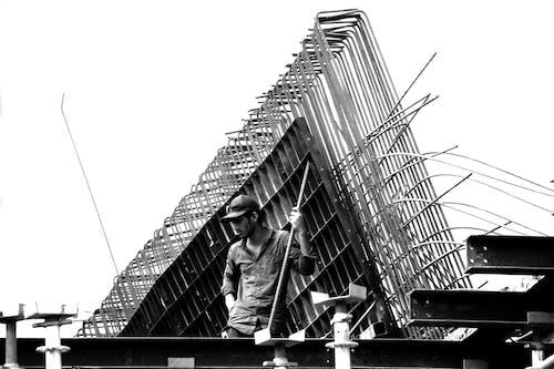 Gratis lagerfoto af arbejdsmand, byggeplads, bygningsarbejder