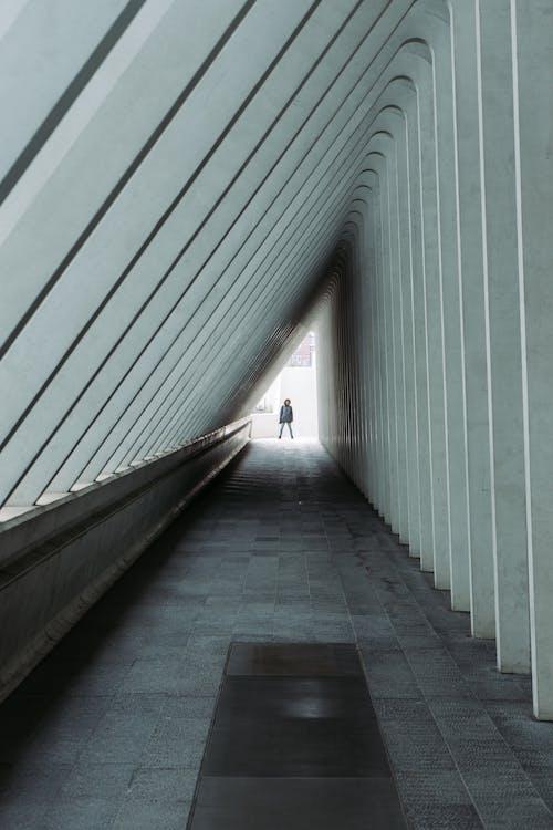Ilmainen kuvapankkikuva tunnisteilla arkkitehtuuri, aula, henkilö, perspektiivi