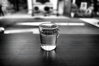 black-and-white, water, drink