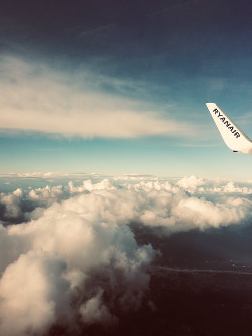 フライト, 空, 絶景, 航空の無料の写真素材