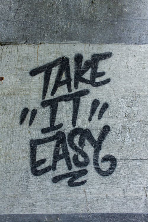 "Take ""it"" Easy Painted Road"