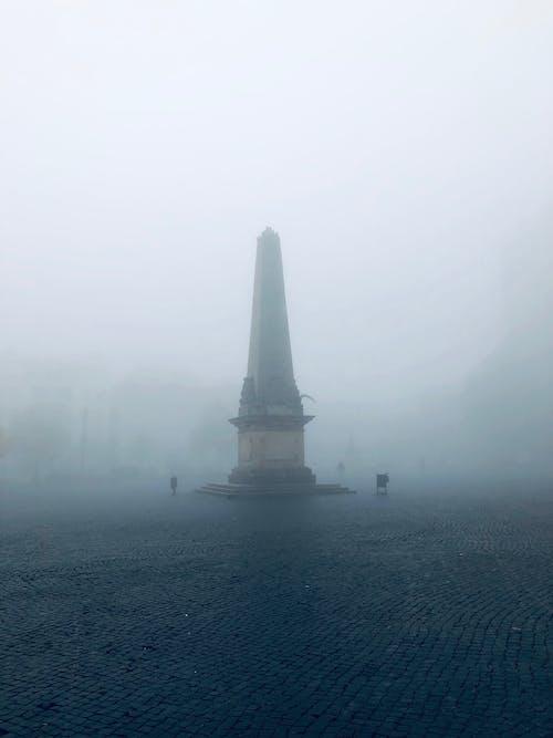 Darmowe zdjęcie z galerii z grusel, horror, miasto, nebel