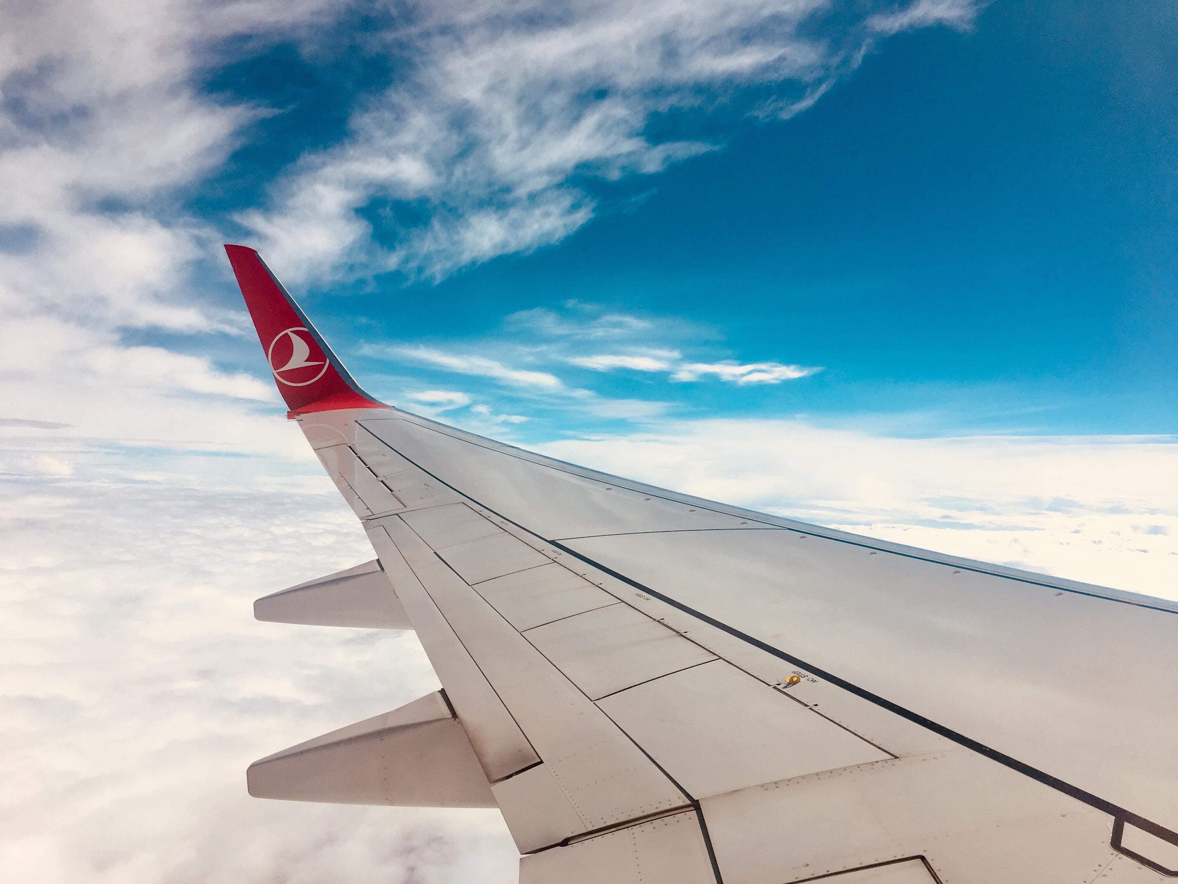 White Airplane Winglet