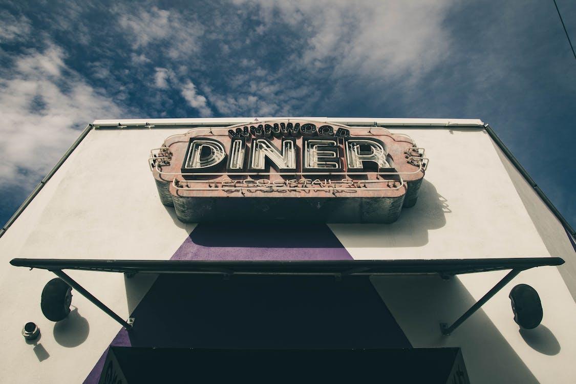Diner Light Signage