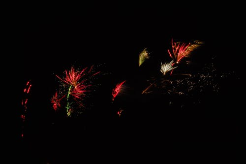 Free stock photo of colors, firework, night