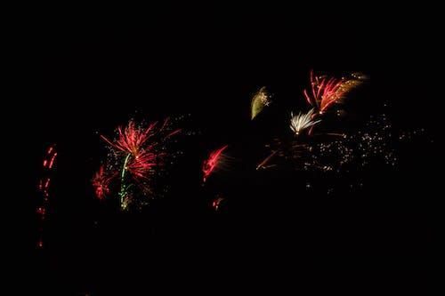 Foto d'estoc gratuïta de colors, focs artificials, nit, Sant Silvestre