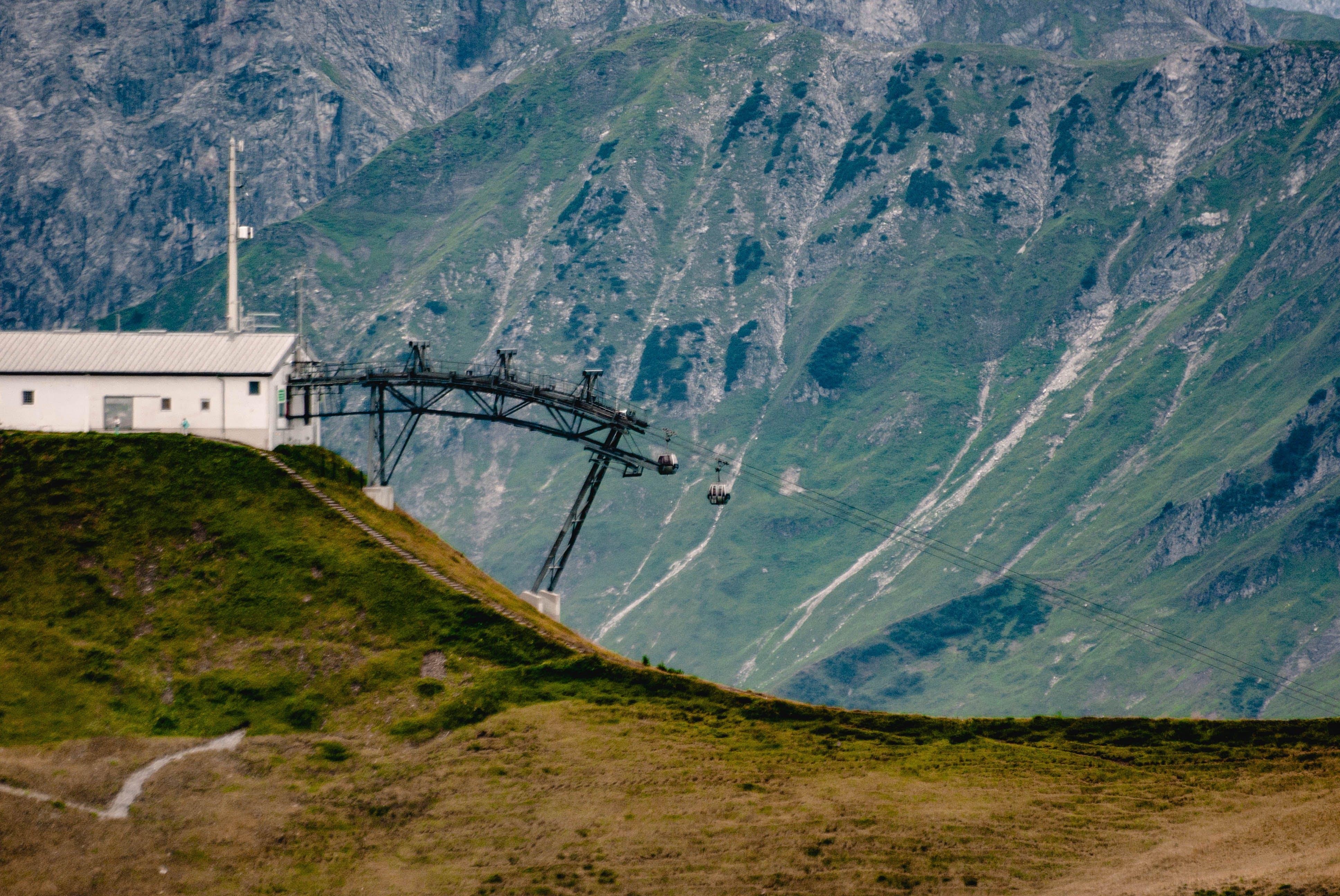 Foto d'estoc gratuïta de alpen, estació, góndola
