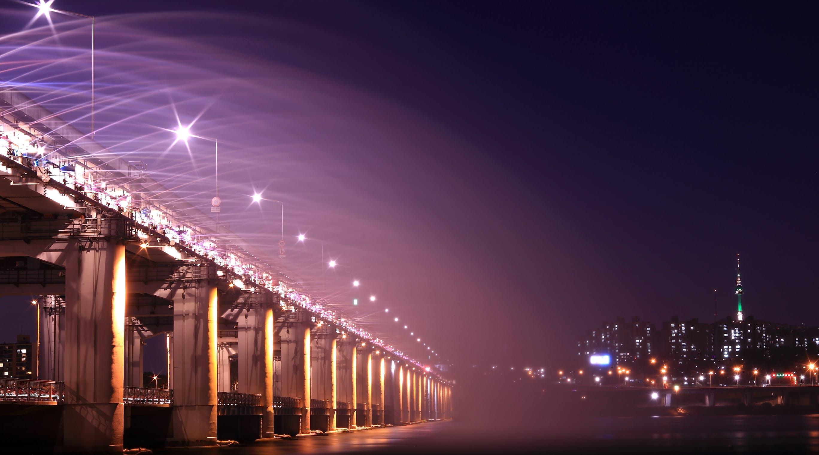 Kostnadsfri bild av arkitektur, bro, byggnader, gata