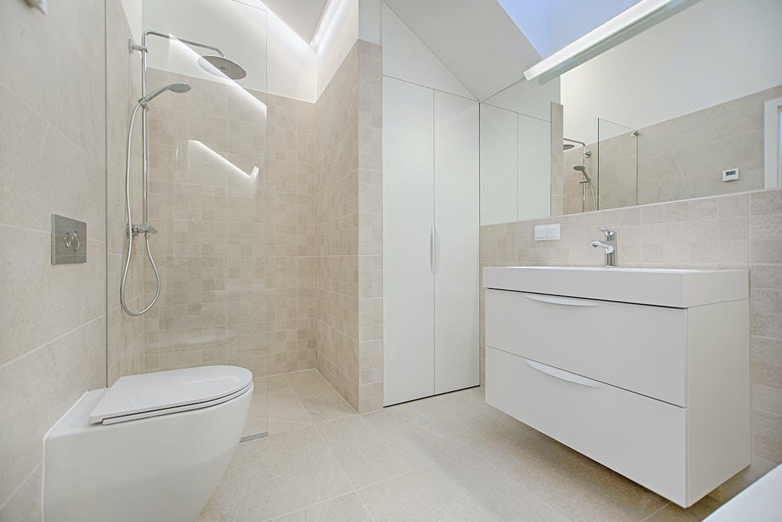 Architekturfotografie Der Toilette