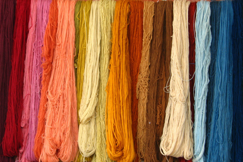 Foto d'estoc gratuïta de colorit, fil, fils, tèxtil